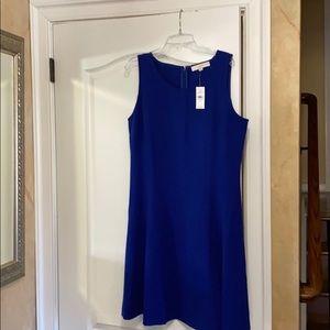 Brand new Loft royal blue swing dress